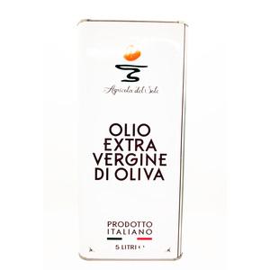 Olio Extra Vergine di Oliva, 5 L - Agricola del Sole