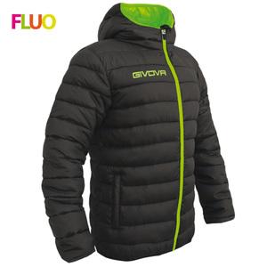 Giubbotto olanda nero/verde fluo givova