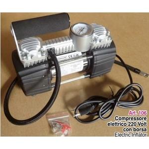 Mini compressore portatile a 2cilindri