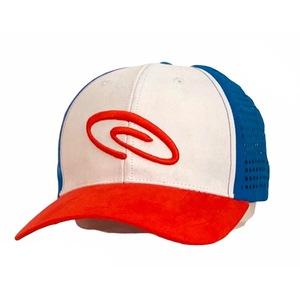 Cappellino con visiera rosso,blu,bianco padel