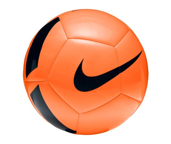 Nike pallone pitch team arancio nero
