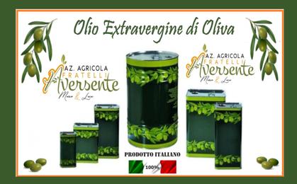 Olio extravergine di oliva azienda agricola fratelli aversente   calabria