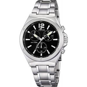 Lotus orologio cronografo uomo Lotus Chrono Fondo nero CODICE: 10118/6