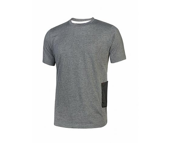 T shirt upower linea enjoy modello road colore grey meteorite
