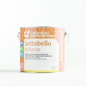 Smalto Settebello Lt. 0,750 Giallo Arancio Sammarinese