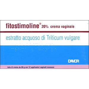 Fitostimoline 20%  Crema vaginale tubo da 60g con 12 applicattori vaginali