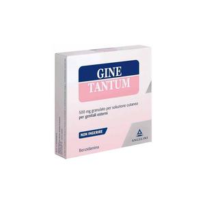 Ginetantum granulato per soluzione cutanea per genitali esterni 10 bustine 500mg
