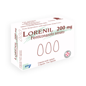 Lorenil 200mg 3 capsule molli vaginali
