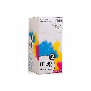Mag2 Magnesio Os SOLUZ 20BUST 1,5G/10ML