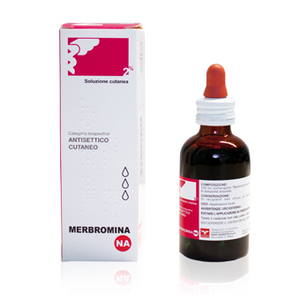 Nova Membromina antisettico cutaneo 100 ml