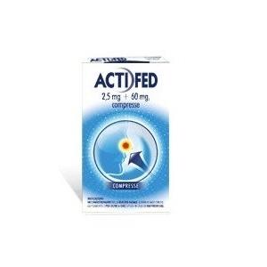 Actifed Raffreddore 12 Compresse 2,5mg+60mg