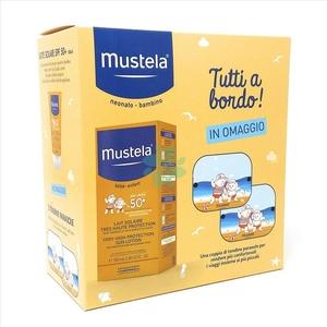 MUSTELA LATTE SOLARE SPF50+ 100 ML + 2 TENDINE PARASOLE