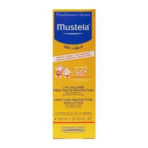 MUSTELA LATTE SOLARE SPF50+ 40 ML