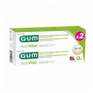 GUM dentifricio gel activital Q10 Duo 2x75ml