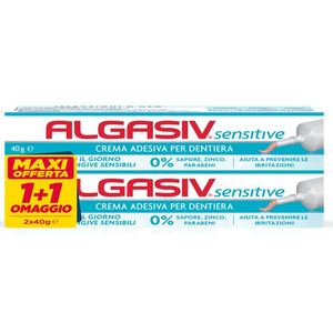 algasiv sensitive - crema adesiva