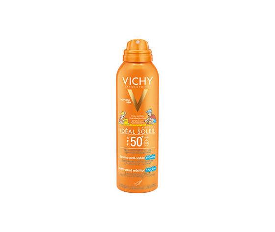 vichy ideal soleil - spray anti sabbia per bambini spf 50+