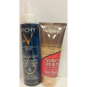 vichy ideal soleil - doposole sotto la doccia o pelle asciutta