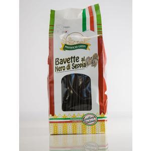 BAVETTE AL NERO DI SEPPIA GR. 500