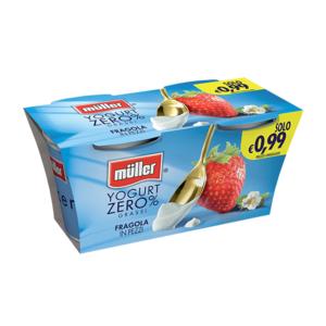 Muller Yogurt 2X125Ml 0,1%