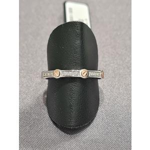 anello oro uomo e diamanti