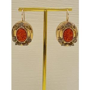 orecchini oro antichi