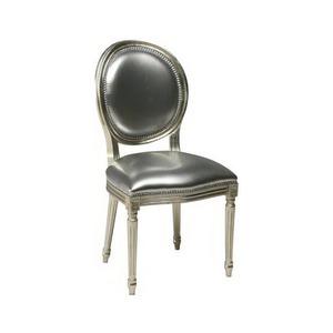 F Sedia Luigi XVI-Trianon S200 foglia argento