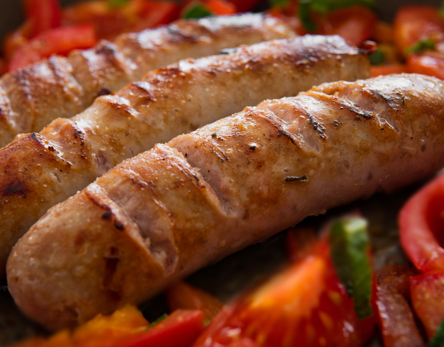 Cooked sausage 929137
