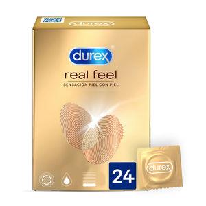 DUREX REAL FEEL 24 UNITÀ