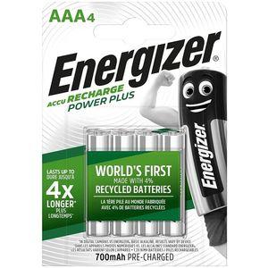 BATTERIE RICARICABILI ENERGIZER AAA4 BLISTER 4