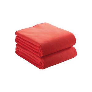 ASCIUGAMANO IN MICROFIBRA ULTRA ASSORBENTE 190 g/m COLORE ROSSO 50 X 100