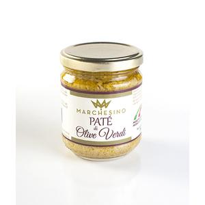 Patè di olive verdi 12 vasi da 190 gr