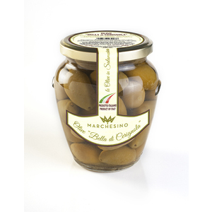 Olive bella di cerignola 6 vasi da  580 gr