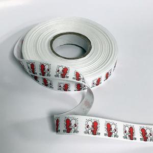 Nastrino cotone Haring Abbraccio