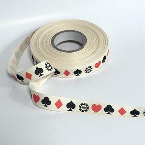 Nastrino cotone semi carte gioco