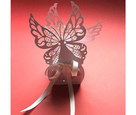 Bomboniera portaconfetti farfalla