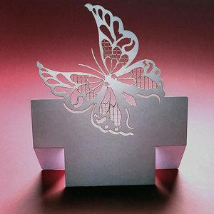 segnaposto tavola Farfalla
