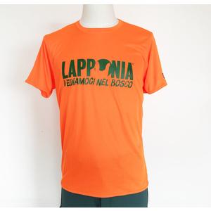T-shirt Ultra tech manica corta traspirante Lapponia by Giorgio Lugaresi logo Lapponia VNB