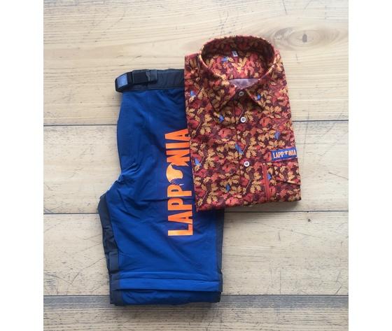 Pantalone accorciabile lapponia camicia camouflage