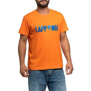 T-Shirt Lapponia by Giorgio Lugaresi  Arancio logo Lapponia Royal