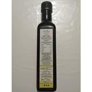 OLIO EXTRA VERGINE DI OLIVA BIOLOGICO 25CL bottiglia per assaggio gratuito MAX 1pz. per utente