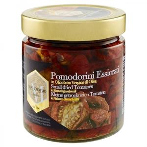 Pomodorini essiccati in olio extra vergine di oliva