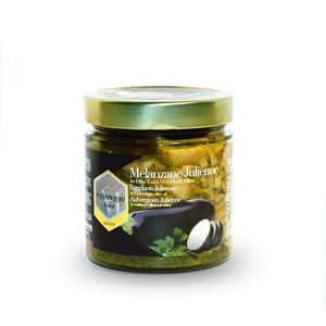Melanzane julienne in olio extra vergine di oliva