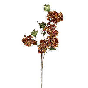 hydrangea spray copper - l100xw26cm