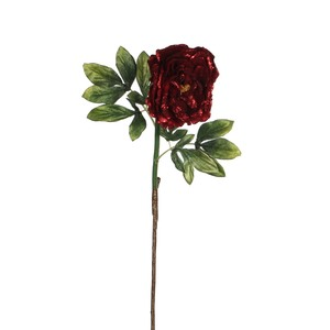 peony stem red - l75xd14cm
