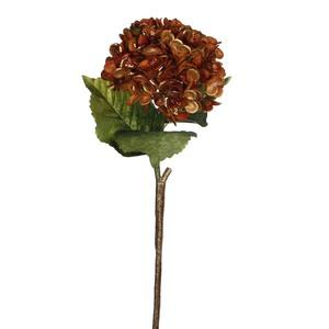 hydrangea stem copper - l64xw20cm