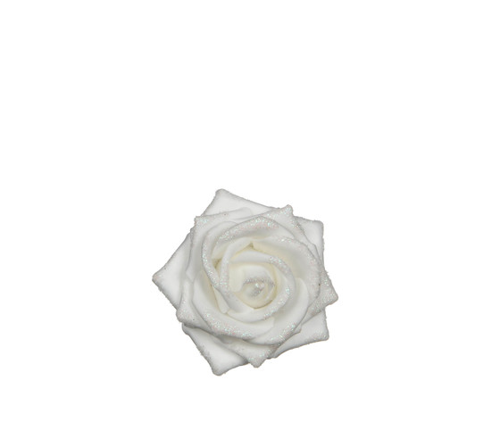 rose clip foam white - h4xd9cm