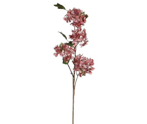 hydrangea spray l. pink - l100xw26cm