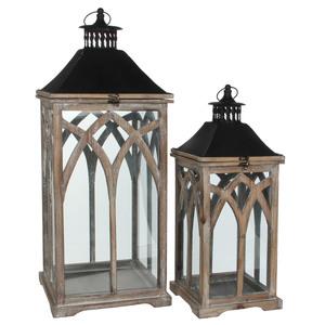 lantern brown - l30xw30xh72cm