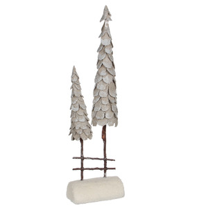 tree beige - l19xw11xh71cm