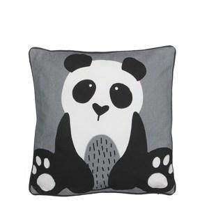 pillow panda grey - l40xw40cm